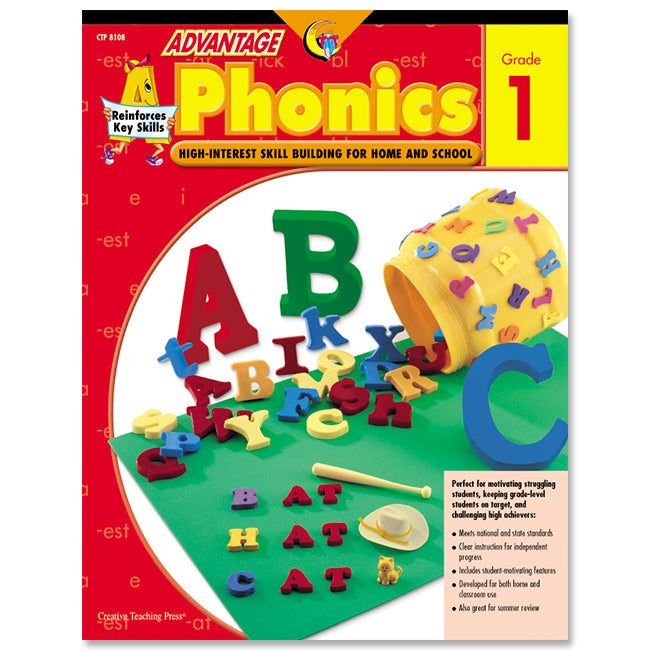 Advantage Phonics, Gr. 1, eBook