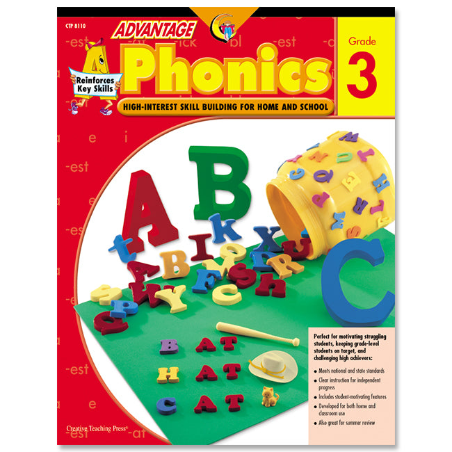 Advantage Phonics, Gr. 3, eBook