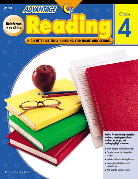 Advantage Reading, Gr. 4, eBook