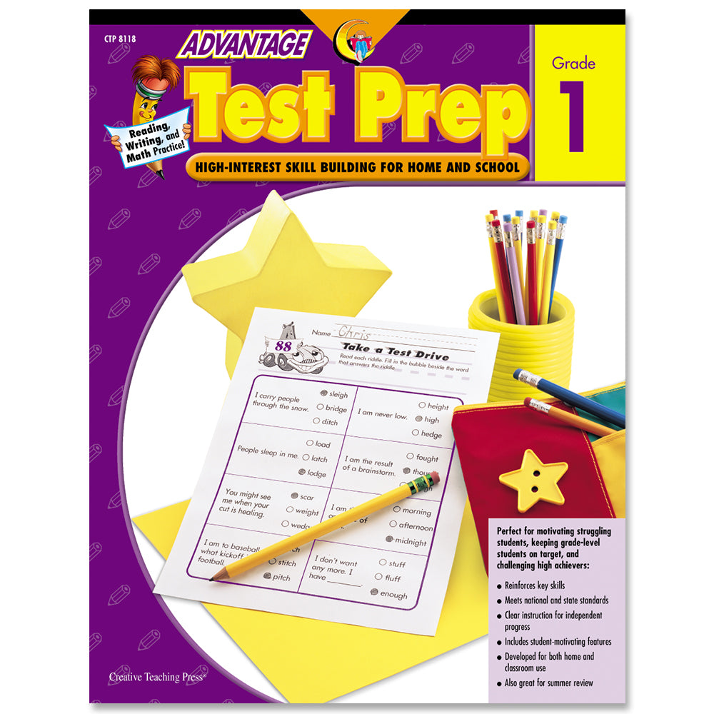 Advantage Test Prep, Gr. 1, eBook