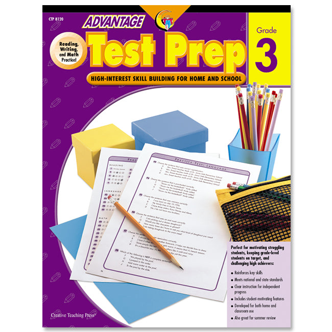 Advantage Test Prep, Gr. 3, eBook
