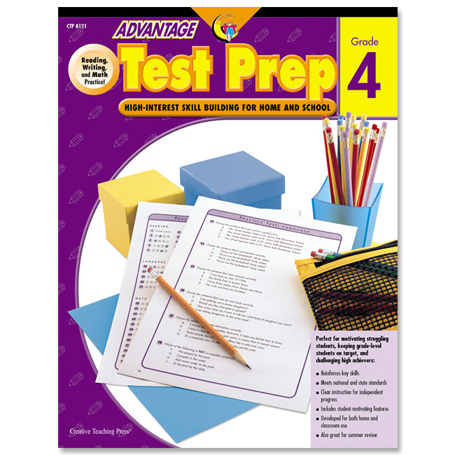 Advantage Test Prep, Gr. 4, eBook