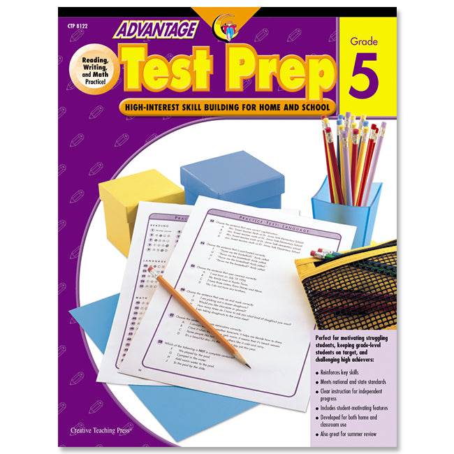 Advantage Test Prep, Gr. 5, eBook