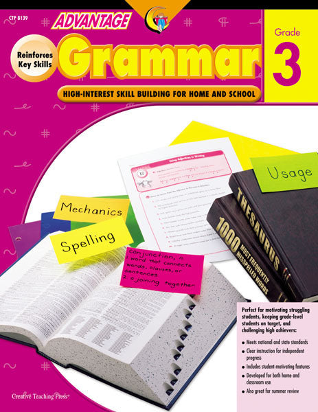 Advantage Grammar, Gr. 3, Open eBook