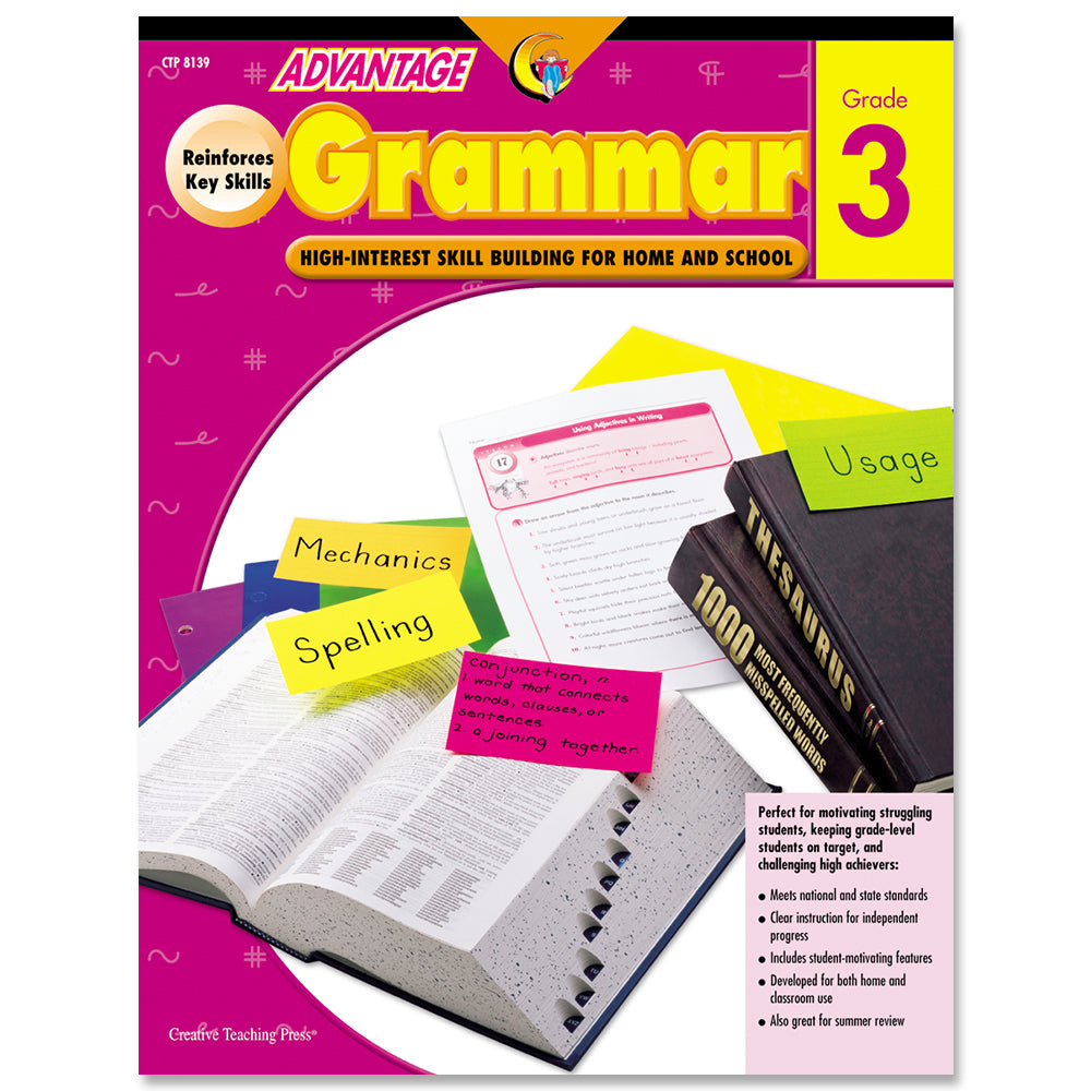 Advantage Grammar, Gr. 3, eBook