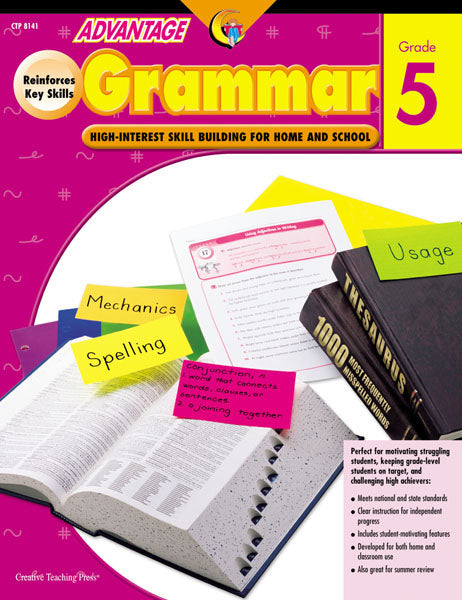 Advantage Grammar, Gr. 5, Open eBook