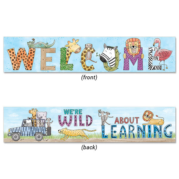 Safari Friends Welcome Banner