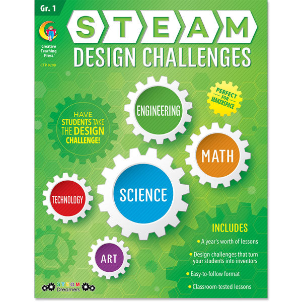 STEAM Design Challenges Resource eBook, Gr. 1