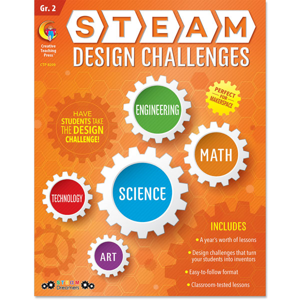 STEAM Design Challenges Resource eBook, Gr. 2