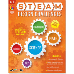 STEAM Design Challenges Resource Book, Gr. 2