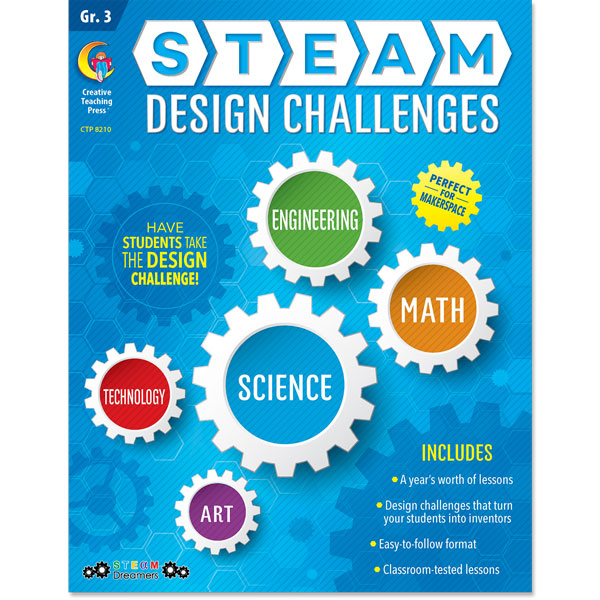 STEAM Design Challenges Resource eBook, Gr. 3