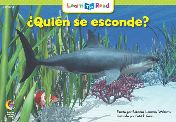 Spanish Reader: ¿Quién se esconde?