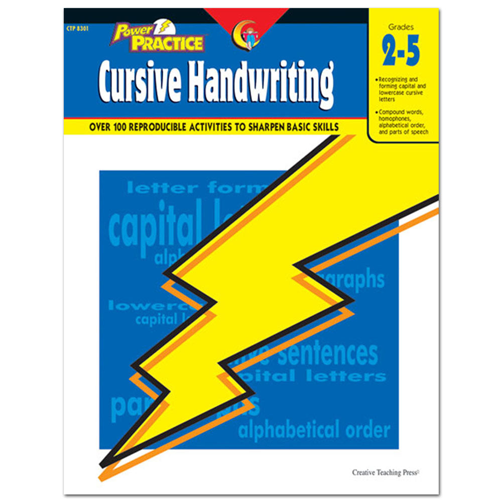 Power Practice: Cursive Handwriting