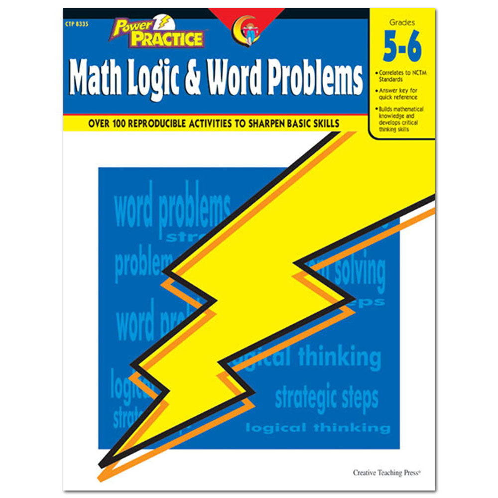 Power Practice: Math Logic and Word Problems, Gr. 5-6