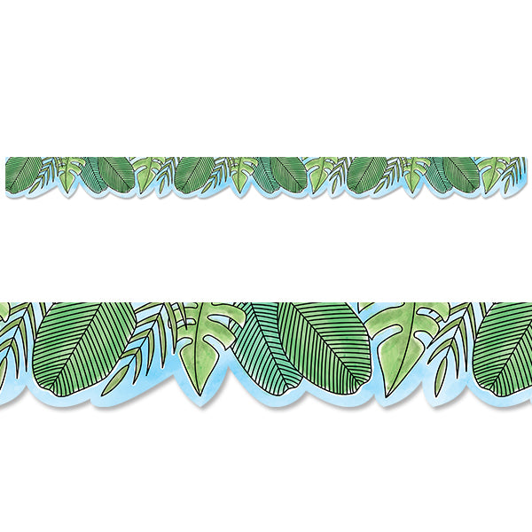 Safari Friends Jumbo Leaves Border