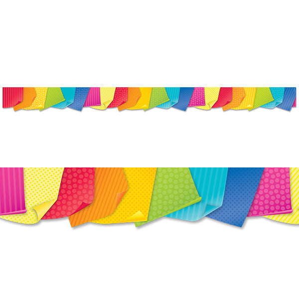 Bold & Bright Sticky Notes Border