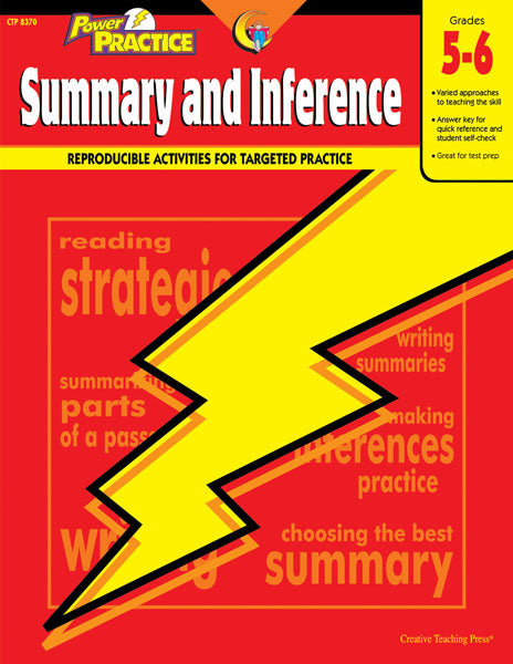 Power Practice: Summary and Inference, Gr. 5-6, Open eBook