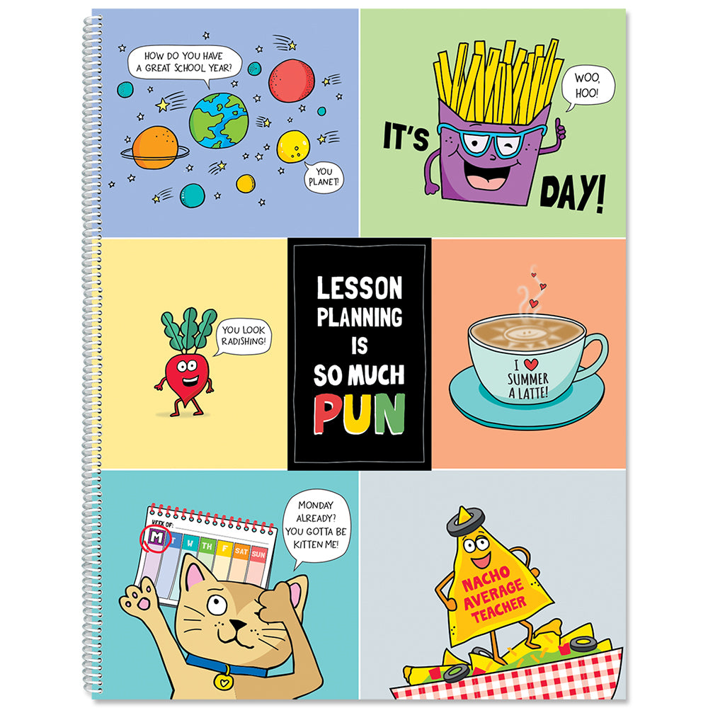 So Much Pun! Year-Long Lesson Plan Open eBook