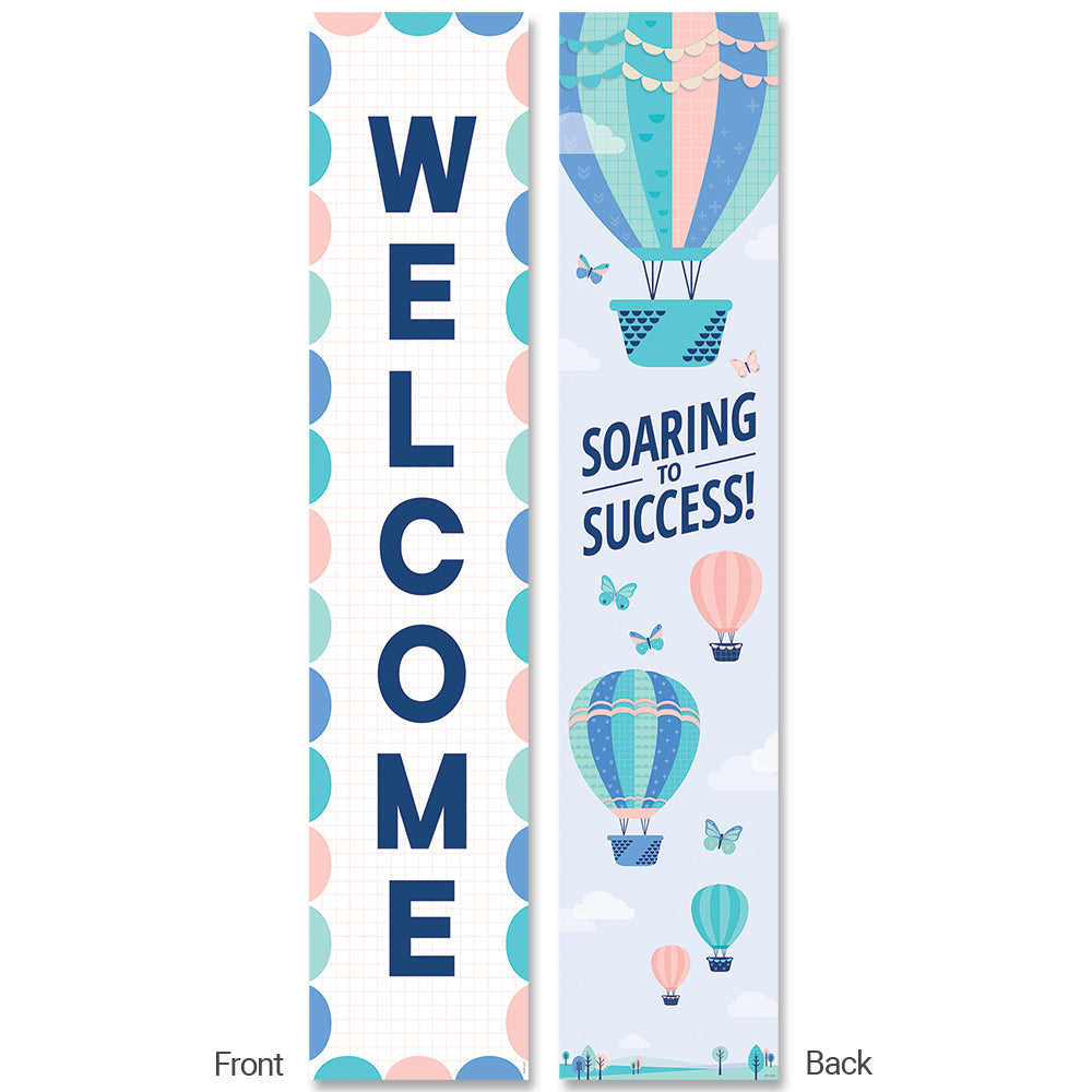 Calm & Cool Welcome Bannner