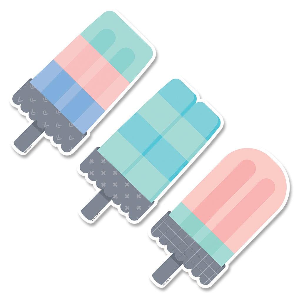 "Calm & Cool Ice Pops 6"" Designer Cut-Outs"