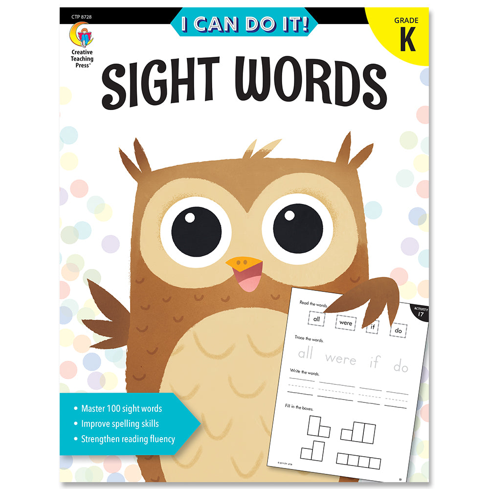 I Can Do It! Sight Words eBook