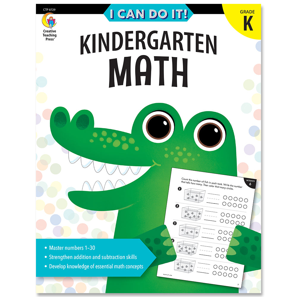 I Can Do It! Kindergarten Math eBook