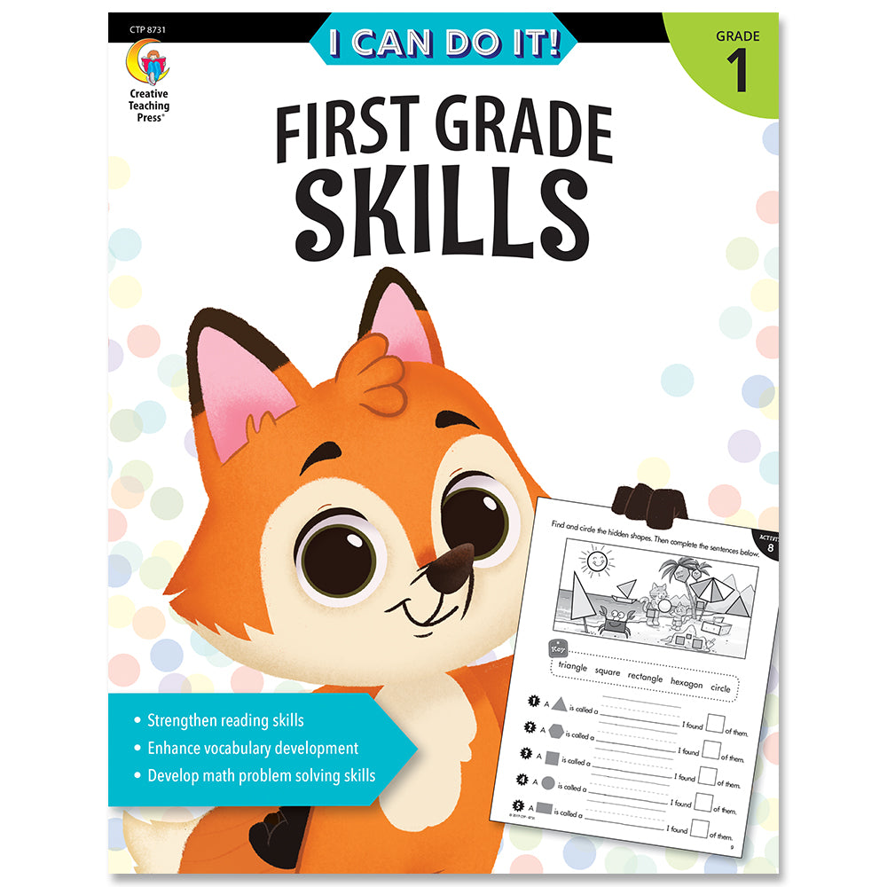 I Can Do It! First Grade Skills eBook