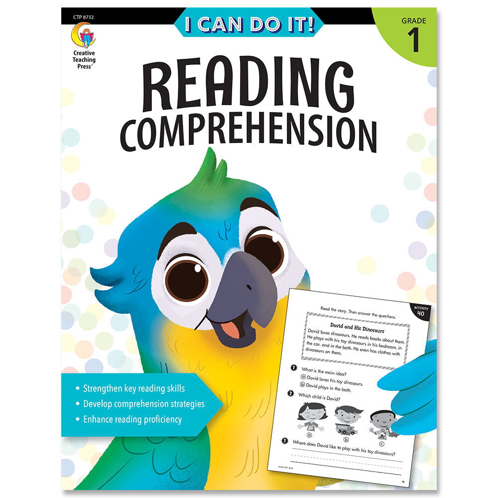 I Can Do It! Reading Comprehension eBook