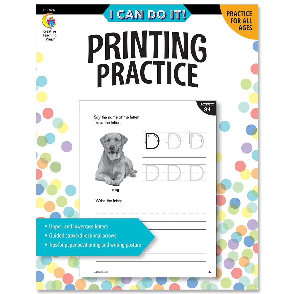 I Can Do It! Printing Practice eBook