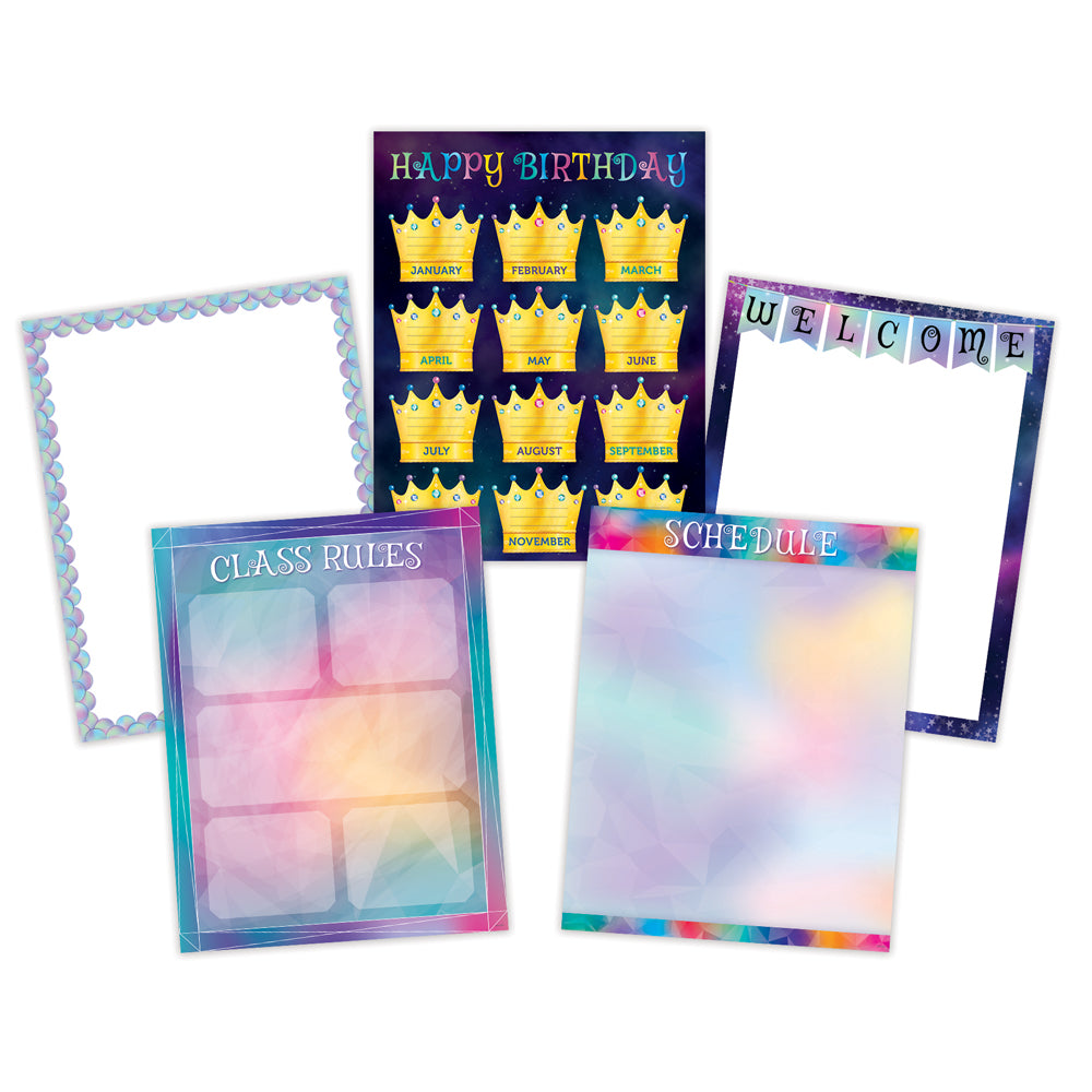 Mystical Magical Classroom Essentials 5-Chart Pack