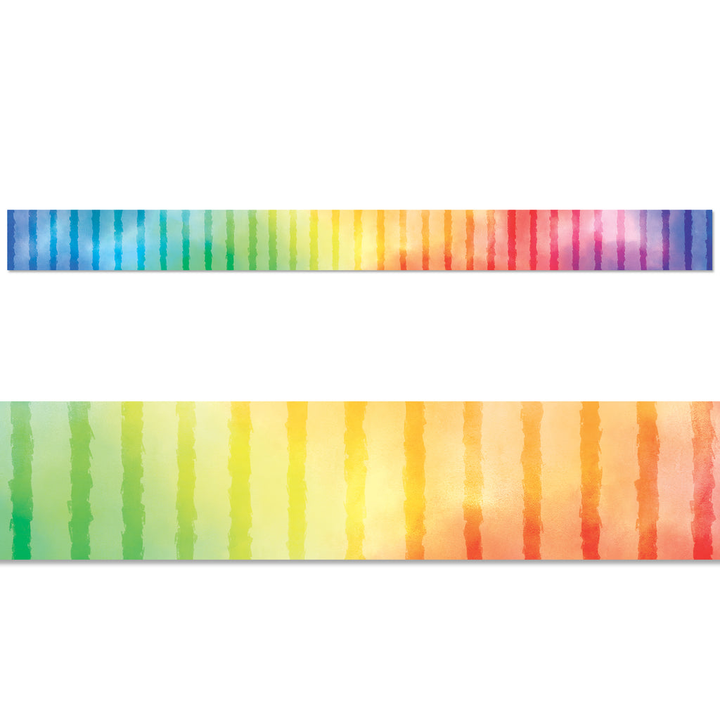 Rainbow Row Border