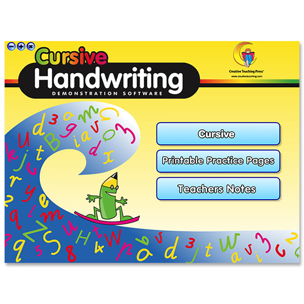 Handwriting Cursive Interactive Learning