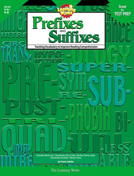 Prefixes and Suffixes, Open eBook