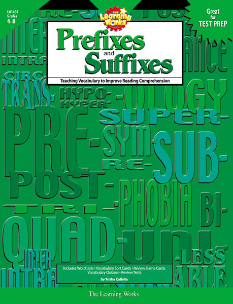Prefixes and Suffixes, eBook
