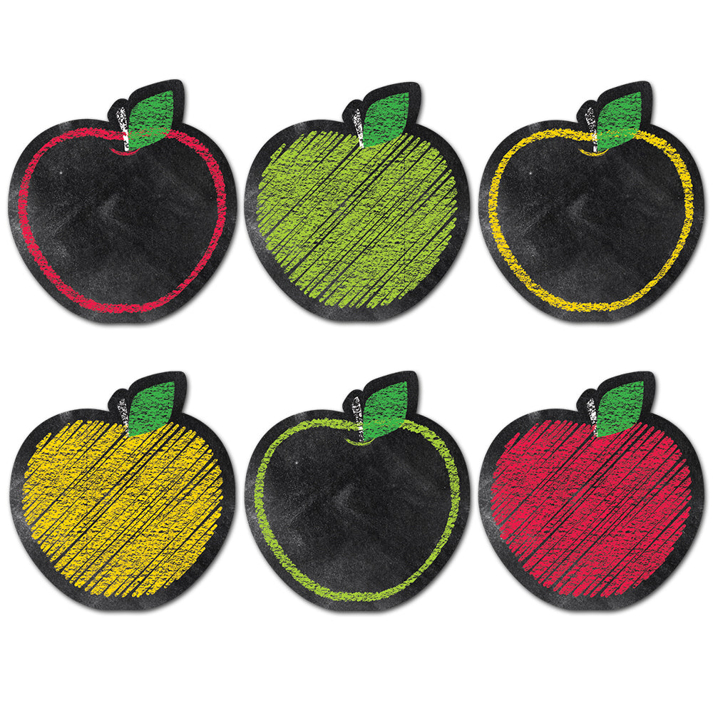 "Chalk It Up! Apples 6"" Designer Cut-Outs"