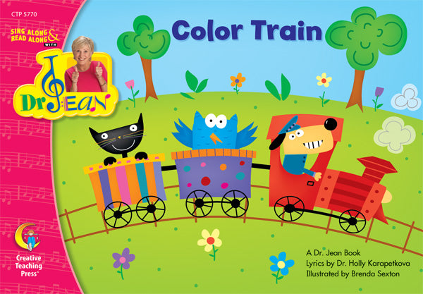 Color Train, Lap Book
