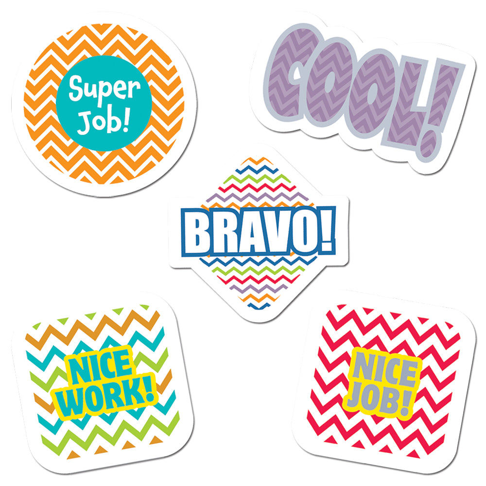 Chevron Reward Stickers