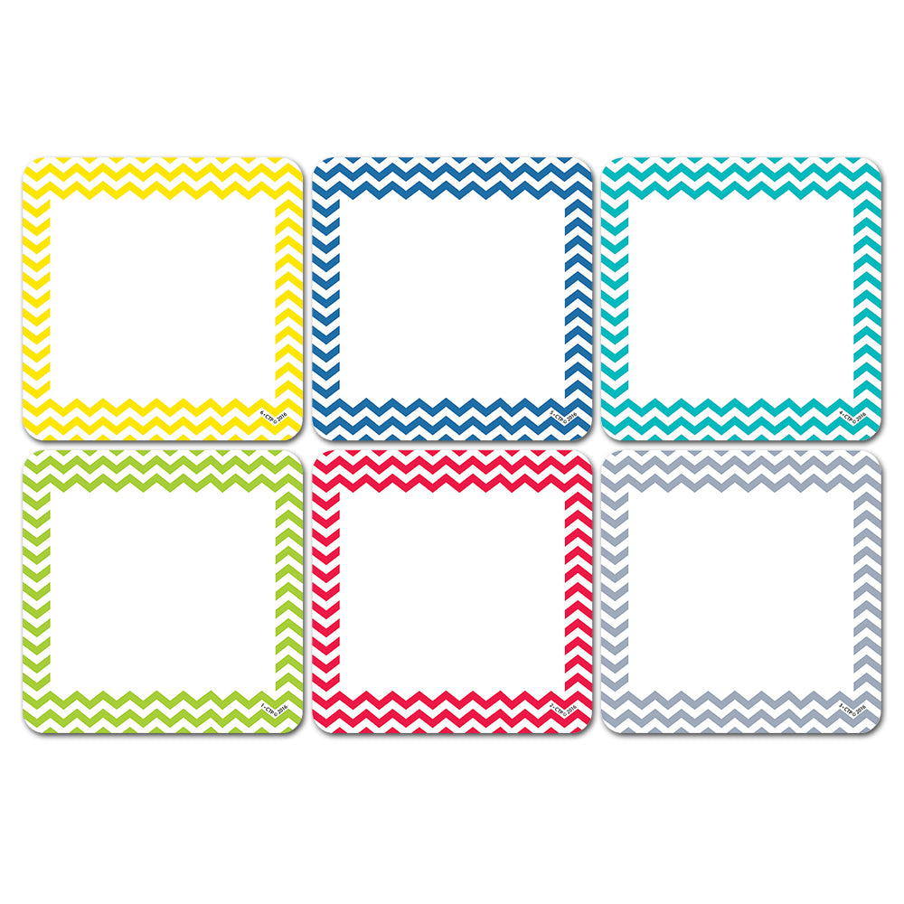 "Chevron Solids 3"" Designer Cut-Outs"
