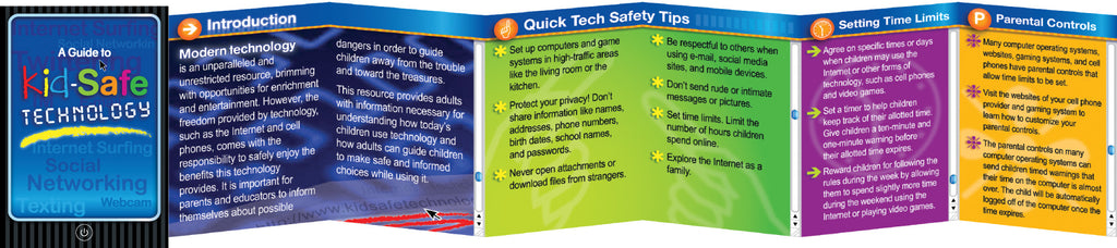 A Guide to Kid-Safe Technology Mini Magnet Book