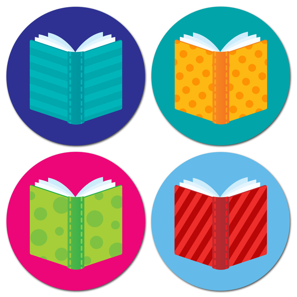 Books Hot Spots Stickers
