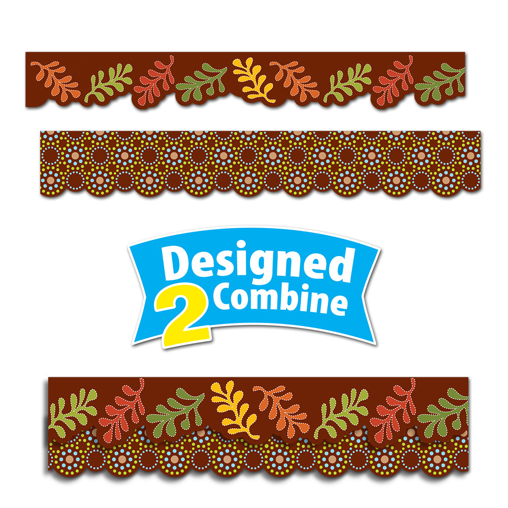 Fall Perfect Pairs Border Set
