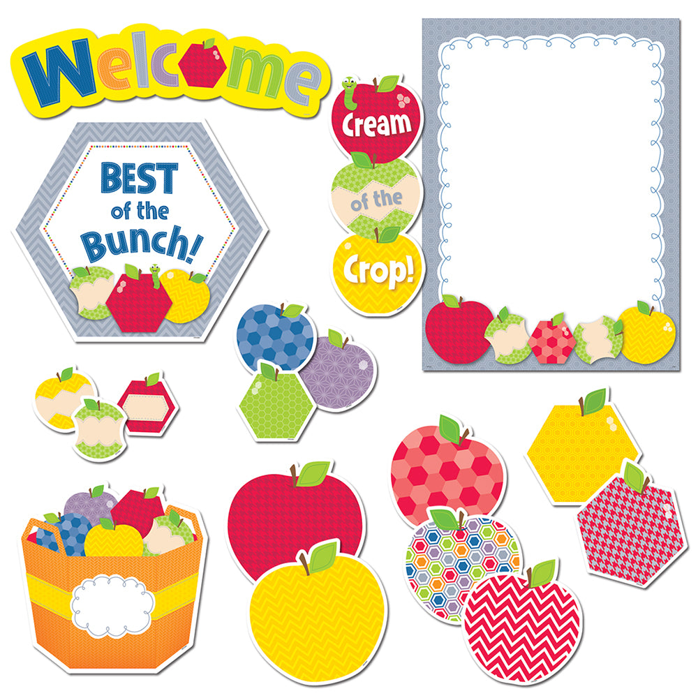 HexaFun Apple Appeal Bulletin Board Set