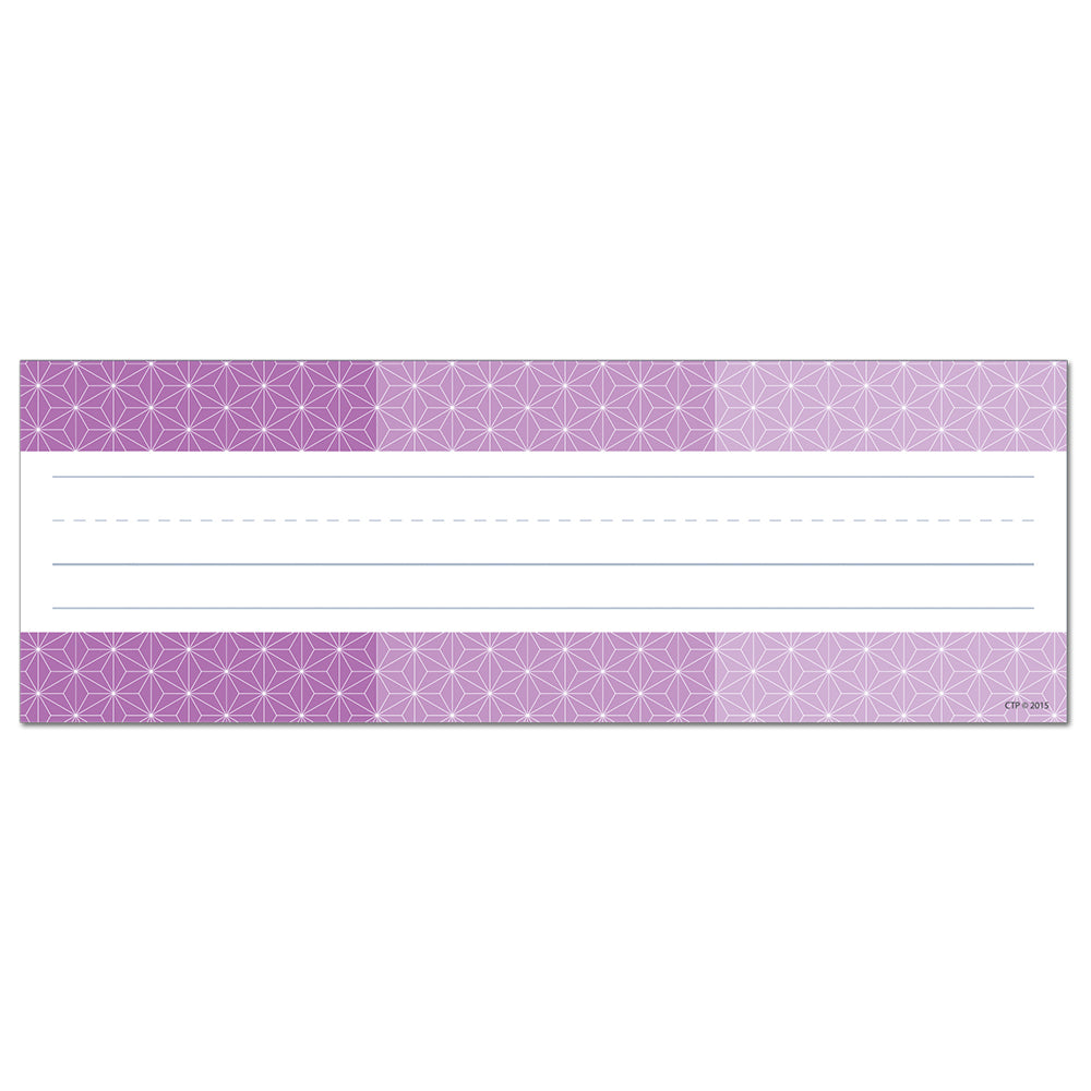 Painted Palette Ombre Purple Radiant Star Name Plates