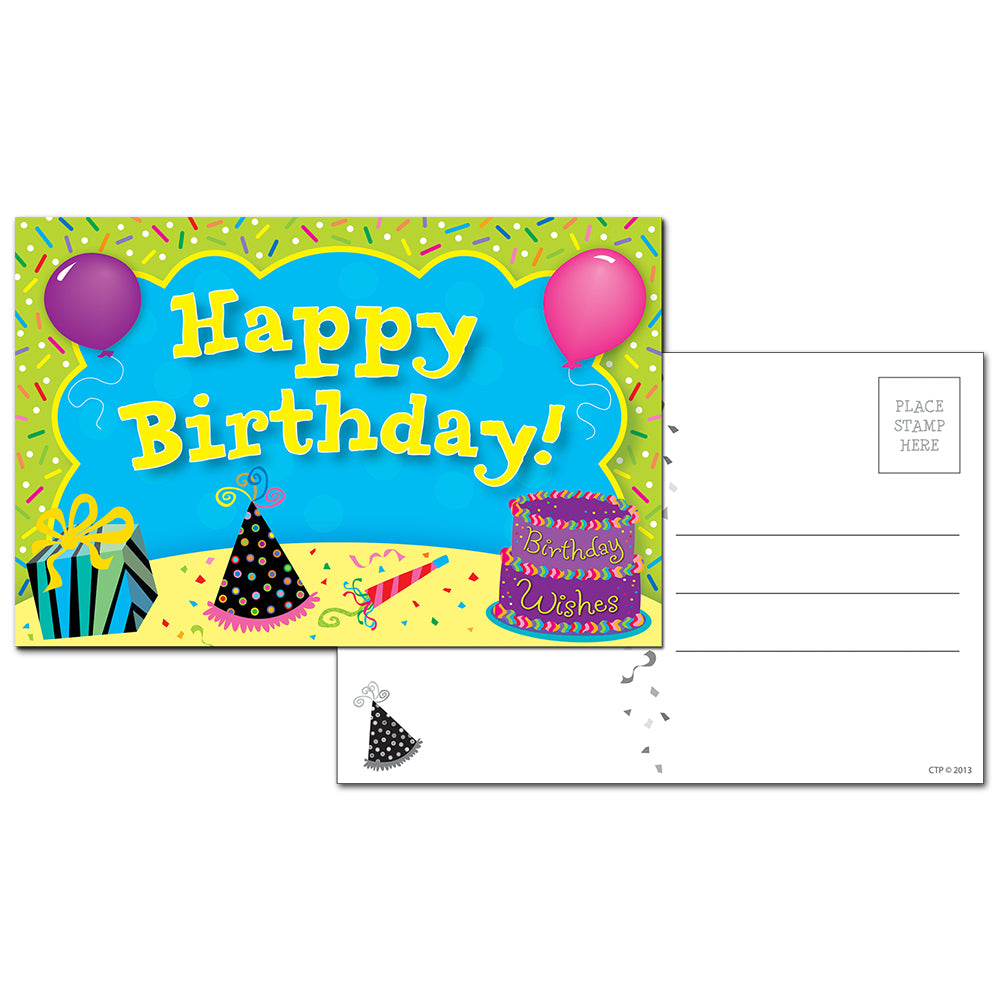 Happy Birthday Post Cards