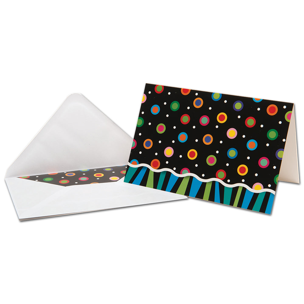 Poppin' Patterns Boxed Note Cards