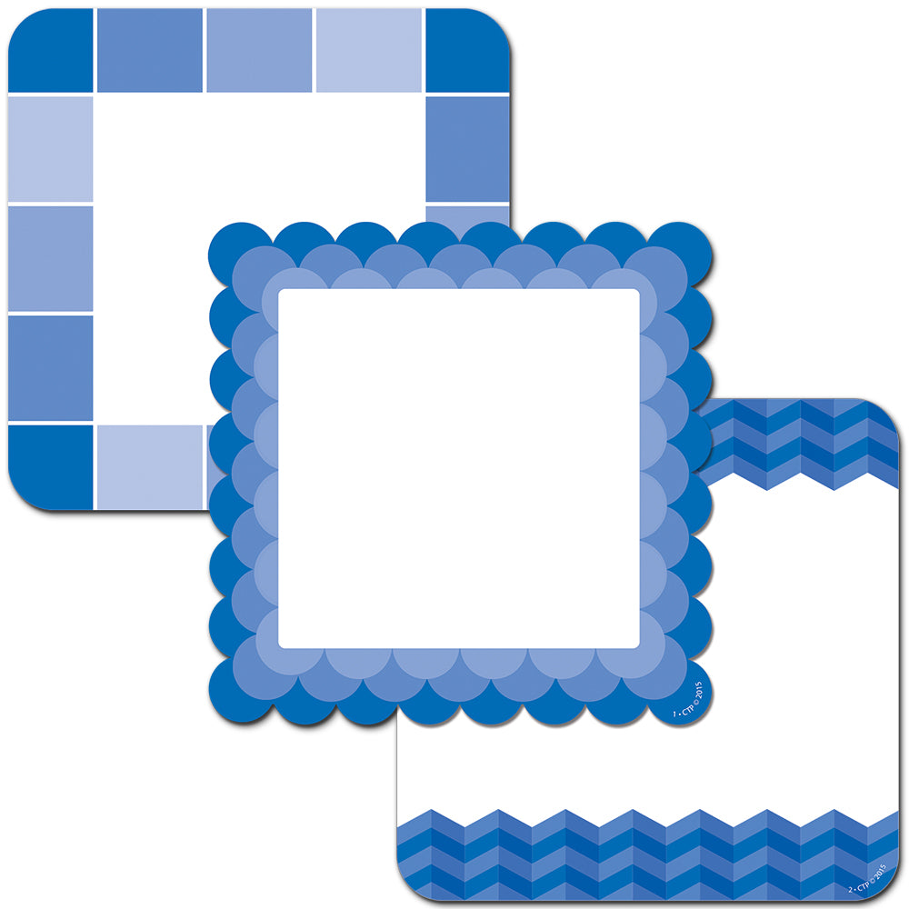 "Painted Palette Blue Cards 6"" Designer Cut-Out"