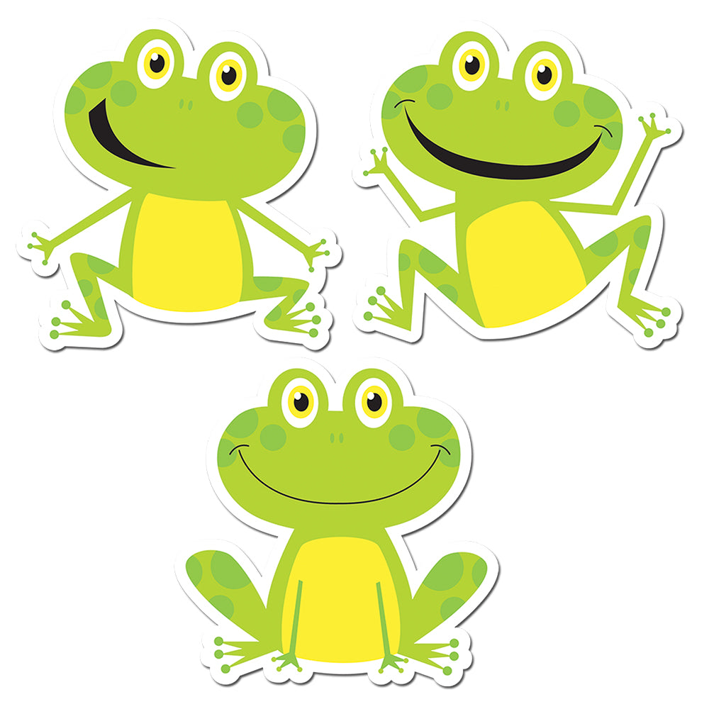 "Frogs 6"" Designer Cut-Outs"