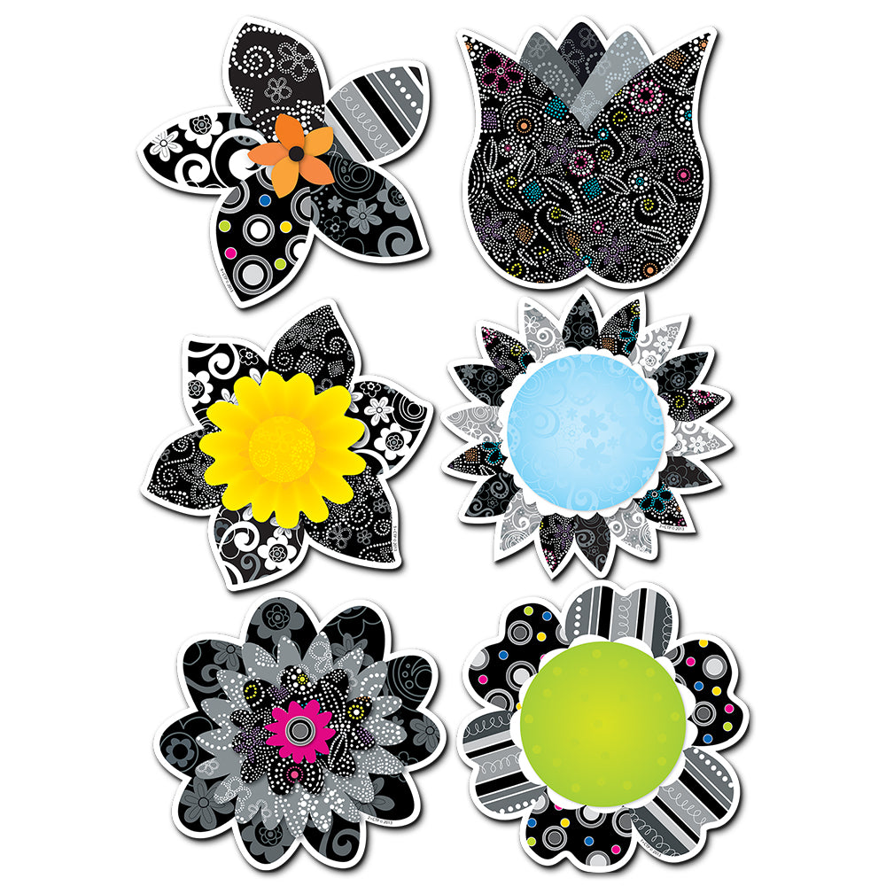 "BW Flowers 10"" Jumbo Designer Cut-Outs"