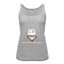 Beards Are A Girl's Best Friend Tank Top - heather gray