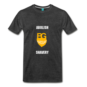 Abolish Shavery - charcoal gray